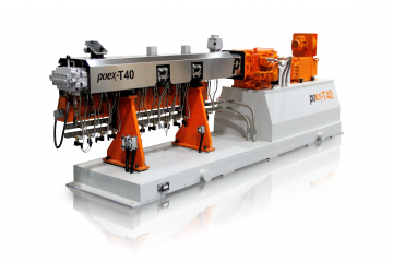 Compounding extruder T40